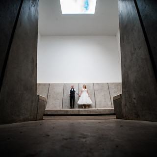 Creative wedding photographer near Leeds