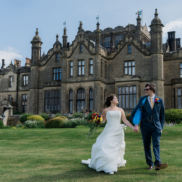 Emma & Oliver | Allerton Castle | North Yorkshire