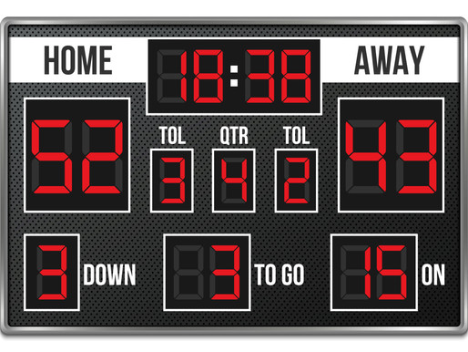 Scoreboards, Performance, Practice and Reflection