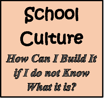 School Culture – What Does It Really Mean?