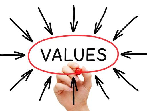 VALUES – It Determines Priorities