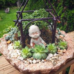Hypertufa Tabletop Garden