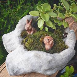 Concrete Hands Garden