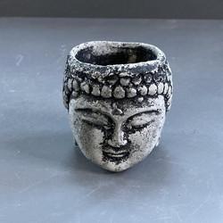 Handmade Concrete Buddha Head Planter Po