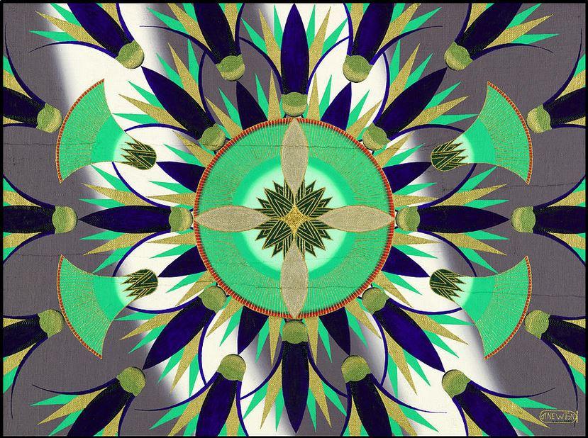 'Eygptian Lotus in Blue'