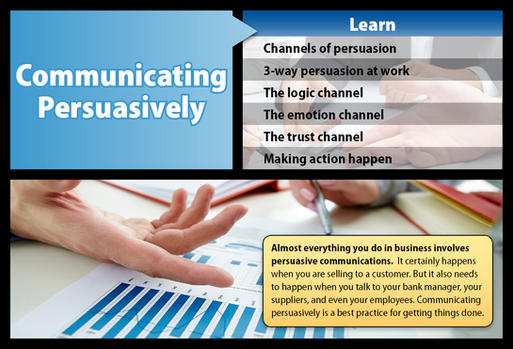 Communicating Persuasively