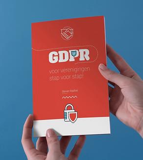 """Boek """"GDPR voor verenigingen stap voor stap"""""""