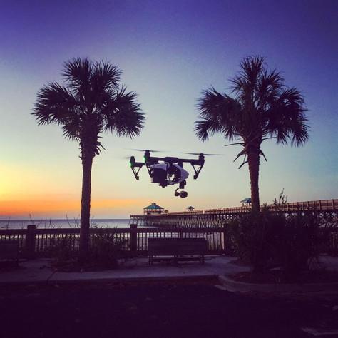 Chasing Hurricane Matthew.... by drone!