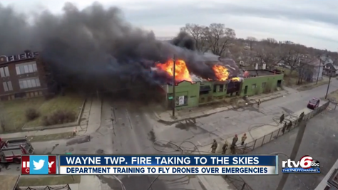 ADC/Skyfire bring first firefighting UAVs to Indiana