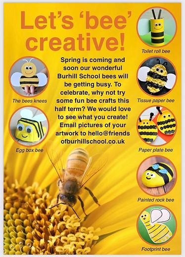 Let's 'bee' creative!