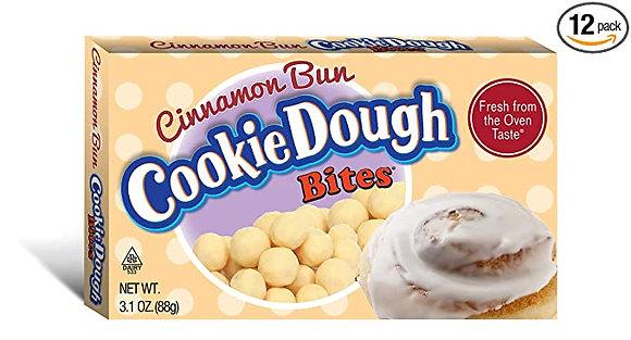 Cinnamon Bun Cookie Dough Bites