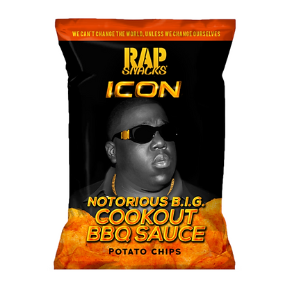 Rap Snacks Notorious B.I.G cookout BBQ Sause