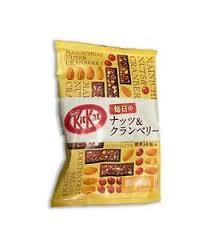 Kit Kat Mainichi Nuts & Cranberry (Bag)