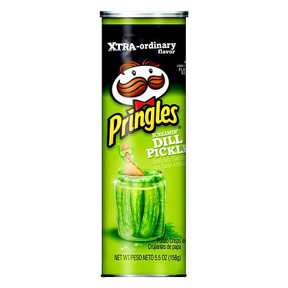 Pringles Dill Pickle LG Can (UK)