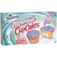 Mermaid Cup Cakes (2 Cakes)