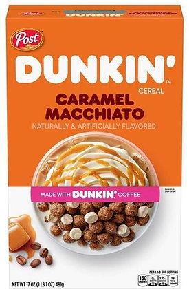 Dunkin Cereal Caramel Macchiato