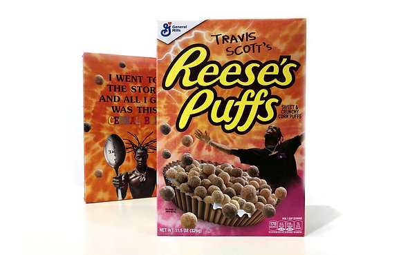 Travis Scott's Reese's Puffs (Family Size)