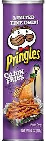 Pringles Cajun Fries (Lg Can)