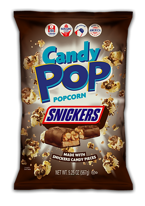 Candy Snickers PopCorn