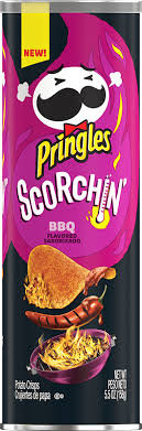 Pringles Scorchin BBQ (Can)