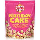 Crunch n Munch Birthday Cake Popcorn