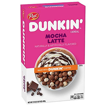 Dunkin Mocha Latte Cereal