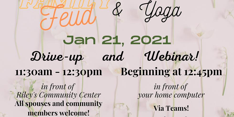 January Luncheon - Family Feud & Yoga!