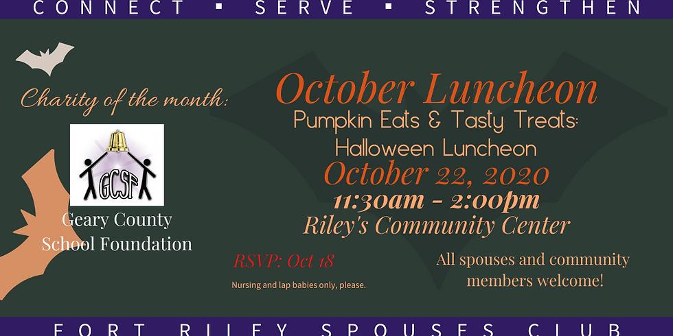 October Luncheon