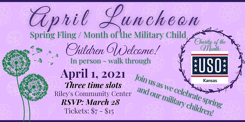 Spring Fling / Month of the Military Child