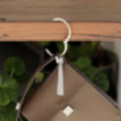 Bundle Tassel hanging off table.JPG