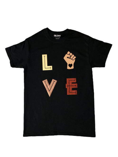 Adult: Love T-shirt  (Small, Medium)