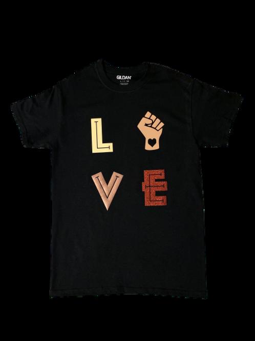 Adult: Love T-shirt  (Large, XLarge)