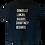 Thumbnail: Custom Adult: Matte Black Dads Matter T-Shirt (Small/Medium)