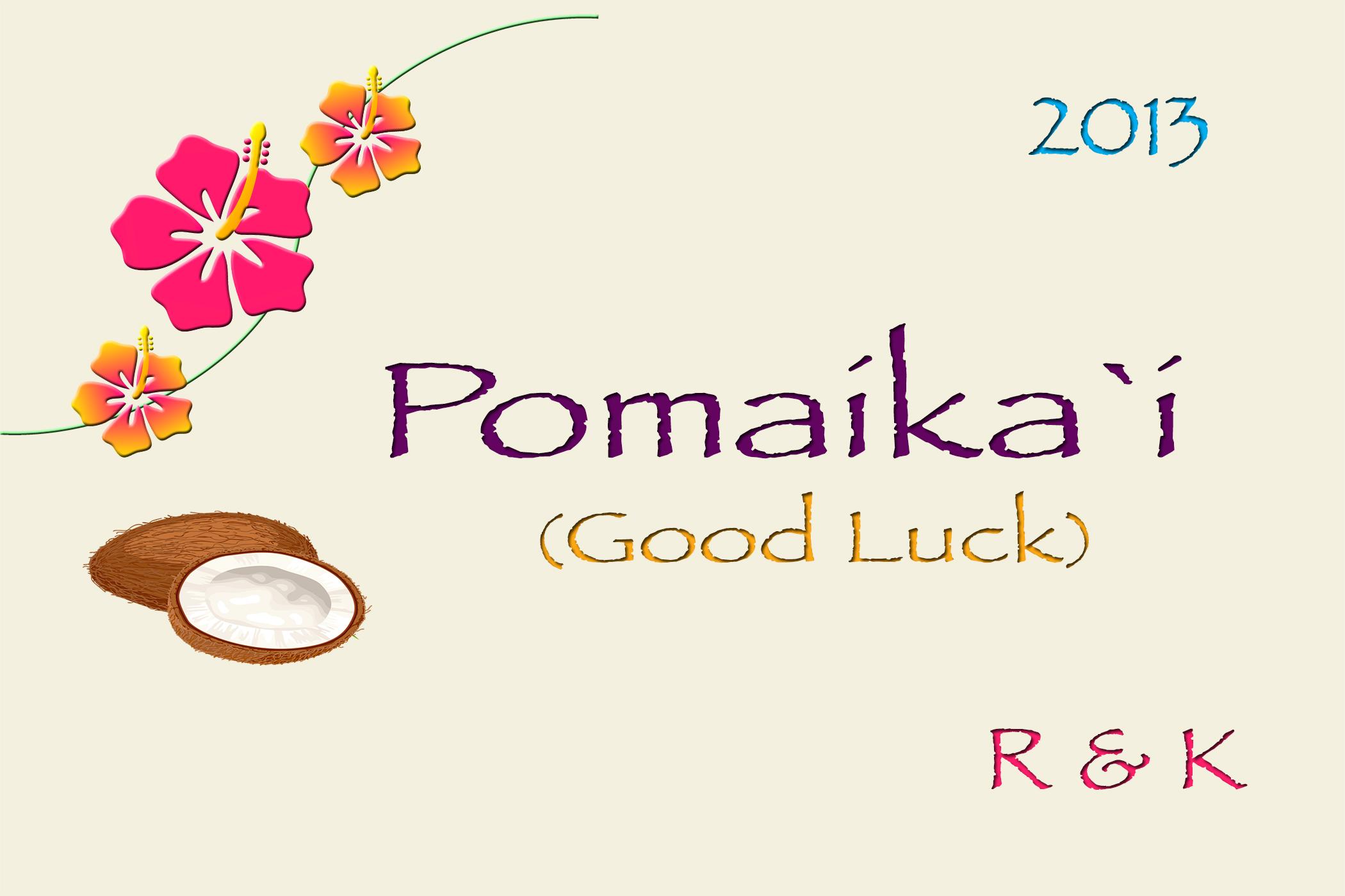 hawaiian-good luck-print