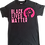 Thumbnail: Custom Adult: Matte Black Lives Matter T-Shirt (Small, Medium)