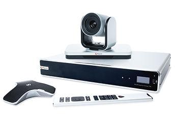Group er tradisjonell videokonferanse kombinert med full integrasjonsmulighet mot Lync og Business for Skype.