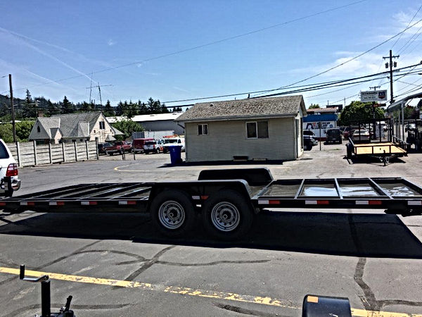 large tiny home trailer