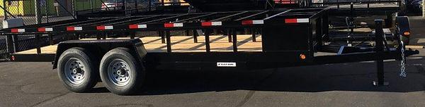 standard concrete trailer