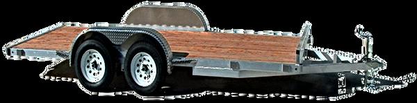 silver eagle tandem axle flat bed trailer 7K & 10K