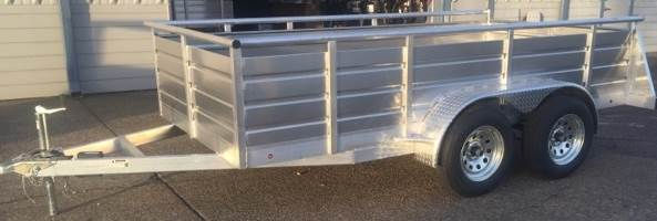 silver eagle ultra tandem axle trailer