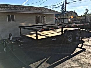 Modified concrete trailer