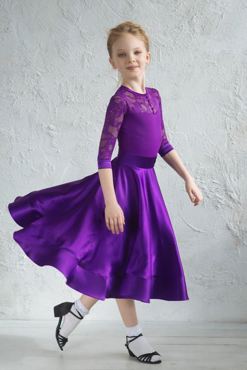 Платья из стрейч сатина фото
