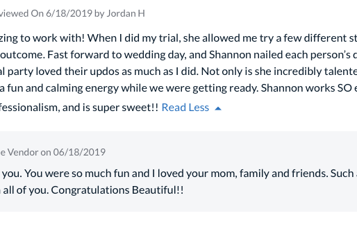 Jordan!  Your Review Means the World!!