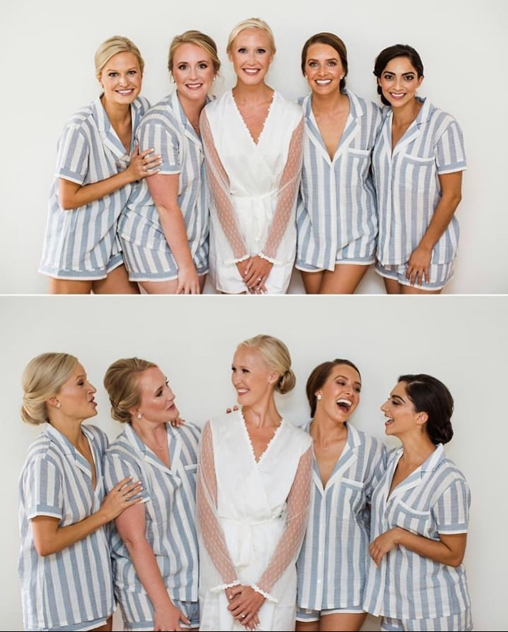 When all the girls get together it is sure to be a blast!  Waking up together, eating breakfast, hanging out in your hotel room or home...what else can you ask for??!!  Goode Beauty hair and makeup team bring everything you can dream of to help the bride and all of her bridesmaids feel as beautiful as possible.  All you have to do is sit back, laugh, breathe and take in the moment.