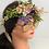 Thumbnail: Flower Headband Wreath Crown, Bridal Halo, Bridesmaid Floral Halo