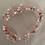Thumbnail: Rose Gold Bohemian Headband   Rose Gold Jewel Hair Vine   Bridal Jewelry