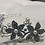 Thumbnail: Silver Flower & Pearl Headband | Silver, Pearl & Rhinestone Hair Vine | Chain