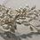 Thumbnail: Gold & Teardrop Pearl Flower Chain Headband | Gold & Pearl Hair Vine | Bridal