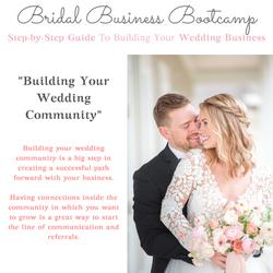 Building Your Wedding Community
