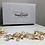 Thumbnail: Gold Leaf & Pearl Chain Headband | Detailed Gold Leaf & Pearl Hair Chain Jewelry